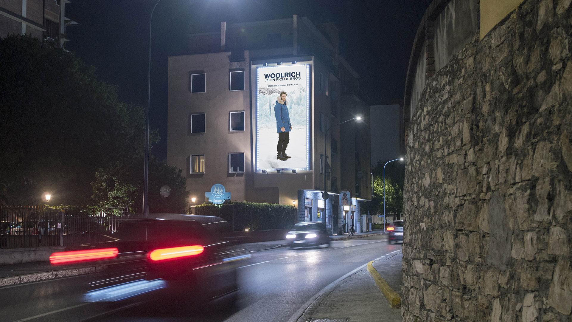 Affissione Via San Rocchino